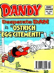Dandy Comic Library 333 - Desperate Dan in Ostrich Eggcitement (TGMG) (1997).cbz
