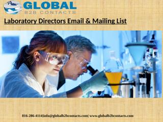 Laboratory Directors Email & Mailing List (1).pptx