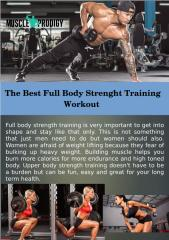 The Best Full Body Strength Training Workout.pdf