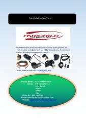 Quality Oem Rubber Gasket Moldings Products.pdf
