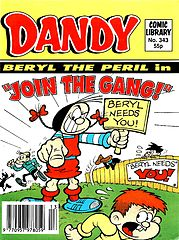 Dandy Comic Library 343 - Beryl the Peril in Join the Gang (TGMG) (1997).cbz