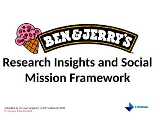 B&J research insights and social mission framework 170910.pptx