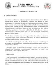 Child Protection Policy Collated (Bimbee File) Recent March 2014.docx