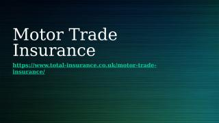 Traders Insurance.pptx