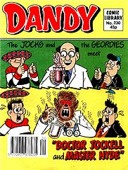 Dandy Comic Library 230 - The Jocks and the Geordies meet Doctor Hockell and Master Hyde (TGMG) (1992).cbz