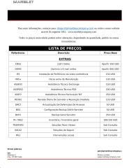Lista de Serviços ou Produtos - MARBLEY CO. - IT SERVICES computer maintemaince extras PALOPS.docx