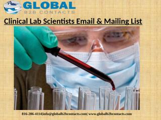 Clinical Lab Scientists Email & Mailing List (1).pptx