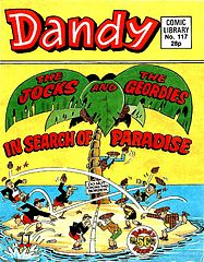 Dandy Comic Library 117 - The Jocks and the Geordies - In Search of Paradise.cbr