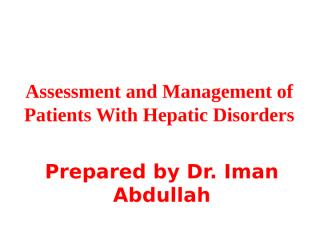 10Liver disorders.ppt