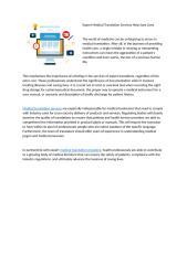 Expert Medical Translation Services Help Save Lives.docx
