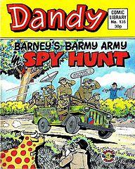 Dandy Comic Library 135 - Barney's Barmy Army - Spy Hunt.cbr