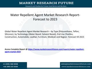 Water Repellent Agent Market.pdf