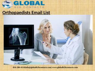 Orthopaedists Email List (1).pptx