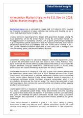 PDF - Ammunition Market Published.pdf