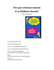 Allan e Barbara Pease - Por que os Homens Mentem e as Mulheres Choram.epub