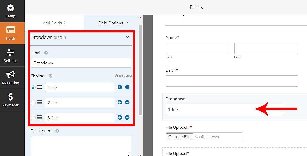 File Upload Form in WordPress