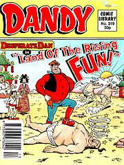 Dandy Comic Library 319 - Desperate Dan in Land of the Rising Fun (TGMG) (1996).cbz
