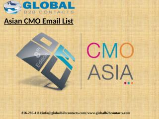 Asian CMO Email List.pptx