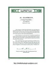 tafsir ibnu katsir surat al kaafiruun.pdf
