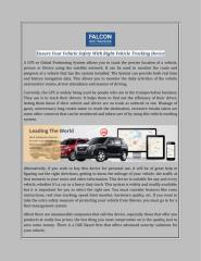 Vehicle Safety With Right Vehicle Tracking Device.pdf