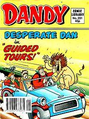 Dandy Comic Library 231 - Desperate Dan in Guided Tours (1992) (TGMG).cbz
