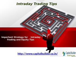 Intraday Trading Tips – Stock Market Tips.pptx