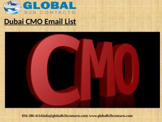 Dubai CMO Email List.pptx