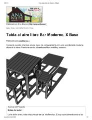 Tabla al aire libre Bar Moderno, X Base.pdf