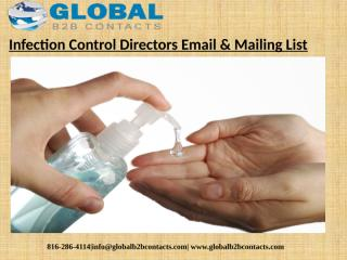 Infection Control Directors Email & Mailing List (1).pptx