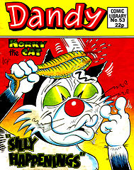 Dandy Comic Library 053 - Korky the Cat - Silly Happenings [1985].cbr