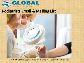 Podiatrists Email & Mailing List (1).pptx