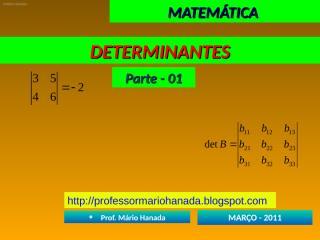 determinantes - parte - 01.pps