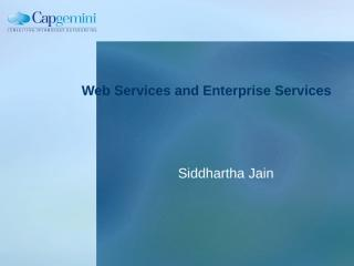 04_WebServices & Enterprise Services.ppt