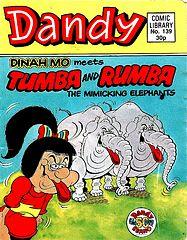 Dandy Comic Library 139 - Dinah Mo Meets Tumba and Rhumba.cbr