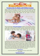 Furniture Sets For Babies and Children Growing.pdf