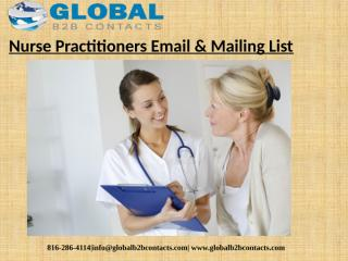 Nurse Practitioners Email & Mailing List (1).pptx