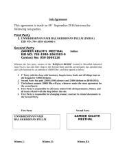 Agreement - baqala unnikrishnan.doc