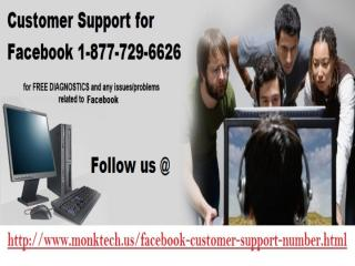 Get effortless support @ Customer Support For Facebook 1-877-729-6626.pptx