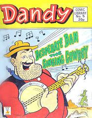 Dandy Comic Library 005 - Desperate Dan - Singing Cowboy [1983] (Ajnaabi).cbz