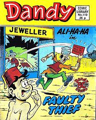 Dandy Comic Library 110 - Ali-Ha-Ha - Faulty Thief.cbr