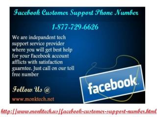 Just call Facebook Customer Support Phone Number 1-877-729-6626 toll-free.pptx