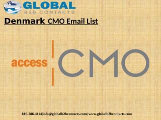 DenmarkCMO Email List.pptx